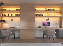 37 Minimalist Home Offices That Sport Simple But Stylish Workspaces images 7