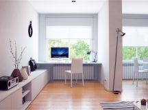 37 Minimalist Home Offices That Sport Simple But Stylish Workspaces images 29
