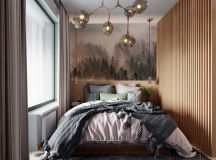 Scandinavian Style Interior Infused With Garden Greenery images 13