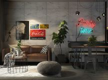 Four Types of Industrial Style Decor images 16