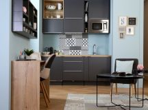 50 Wonderful One Wall Kitchens And Tips You Can Use From Them images 35