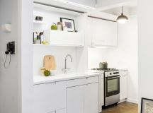 50 Wonderful One Wall Kitchens And Tips You Can Use From Them images 42