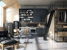 50 Wonderful One Wall Kitchens And Tips You Can Use From Them images 2