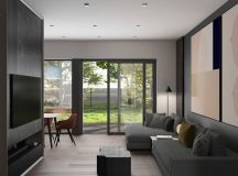 Grey Based Decor With Warming Accent Colours images 6