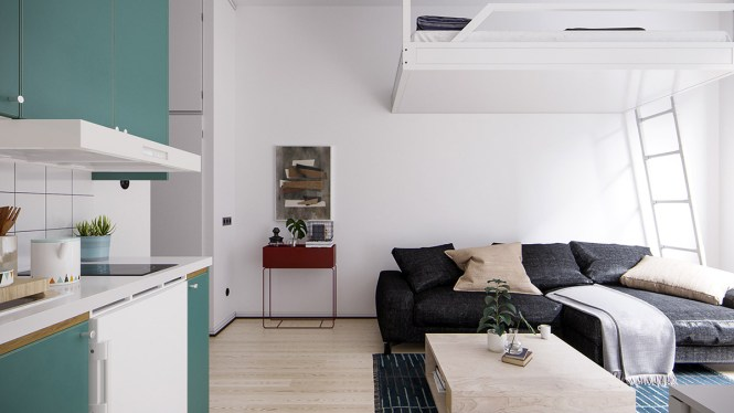 4 Small E Apartments That Use Clever Ways To Maximize