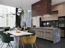 Black Decor With Colourful Accents images 6