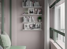 Scandinavian Style Interior Infused With Garden Greenery images 9