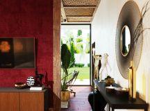Two Nature Loving Boho Interiors images 17