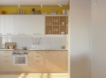 50 Wonderful One Wall Kitchens And Tips You Can Use From Them images 40