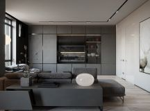 Grey Based Decor With Warming Accent Colours images 21