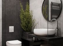 51 Industrial Style Bathrooms Plus Ideas & Accessories You Can Copy From Them images 12