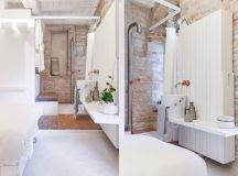 51 Industrial Style Bathrooms Plus Ideas & Accessories You Can Copy From Them images 24