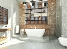 51 Industrial Style Bathrooms Plus Ideas & Accessories You Can Copy From Them images 17