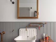 51 Industrial Style Bathrooms Plus Ideas & Accessories You Can Copy From Them images 11