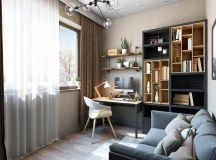 33 Inspiring Industrial Style Home Offices That Sport Beautiful Workspaces images 30