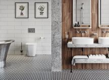 51 Industrial Style Bathrooms Plus Ideas & Accessories You Can Copy From Them images 9