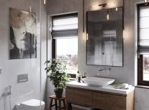 51 Industrial Style Bathrooms Plus Ideas & Accessories You Can Copy From Them images 35