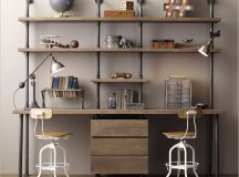 33 Inspiring Industrial Style Home Offices That Sport Beautiful Workspaces images 2