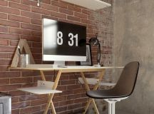 33 Inspiring Industrial Style Home Offices That Sport Beautiful Workspaces images 29