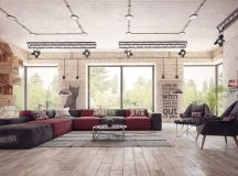 Four Types of Industrial Style Decor images 28