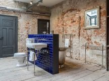 51 Industrial Style Bathrooms Plus Ideas & Accessories You Can Copy From Them images 36