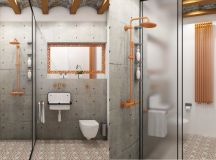 51 Industrial Style Bathrooms Plus Ideas & Accessories You Can Copy From Them images 8