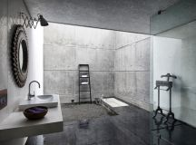51 Industrial Style Bathrooms Plus Ideas & Accessories You Can Copy From Them images 16