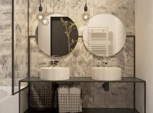 51 Industrial Style Bathrooms Plus Ideas & Accessories You Can Copy From Them images 21