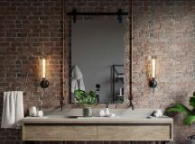 51 Industrial Style Bathrooms Plus Ideas & Accessories You Can Copy From Them images 1