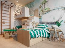 Scandinavian Style Interior Infused With Garden Greenery ...