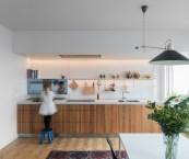 single galley kitchen