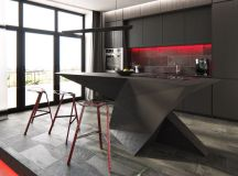 50 Stunning Modern Kitchen Island Designs images 5