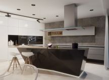 50 Stunning Modern Kitchen Island Designs images 8