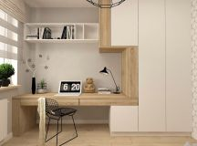 37 Minimalist Home Offices That Sport Simple But Stylish Workspaces images 12