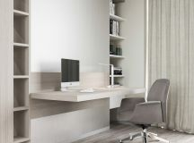 37 Minimalist Home Offices That Sport Simple But Stylish Workspaces images 0