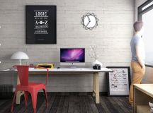 37 Minimalist Home Offices That Sport Simple But Stylish Workspaces images 13