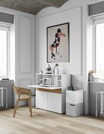 Minimalist Home Offices Sport Simple Stylish