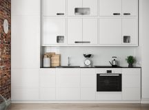 50 Wonderful One Wall Kitchens And Tips You Can Use From Them images 29