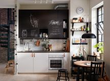 50 Wonderful One Wall Kitchens And Tips You Can Use From Them images 1