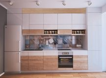 50 Wonderful One Wall Kitchens And Tips You Can Use From Them images 6