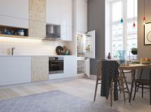 50 Wonderful One Wall Kitchens And Tips You Can Use From Them images 39