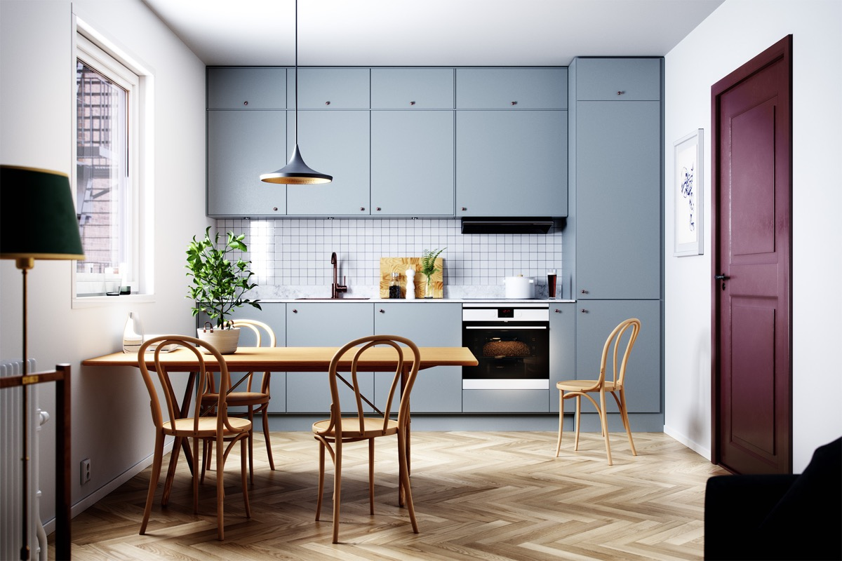 12 Wonderful One Wall Kitchens And Tips You Can Use From Them