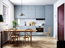 50 Wonderful One Wall Kitchens And Tips You Can Use From Them images 36