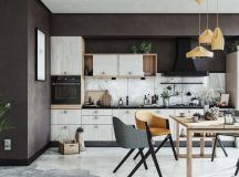 50 Wonderful One Wall Kitchens And Tips You Can Use From Them images 48