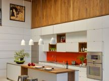 50 Stunning Modern Kitchen Island Designs images 29