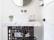 51 Industrial Style Bathrooms Plus Ideas & Accessories You Can Copy From Them images 20