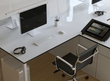 37 Minimalist Home Offices That Sport Simple But Stylish Workspaces images 31