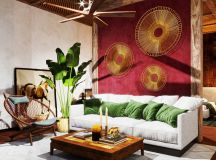 Two Nature Loving Boho Interiors images 10