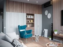 Grey Based Decor With Warming Accent Colours images 2