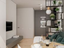 Modern And Youthful: 4 Small Apartments With Fierce Style images 20